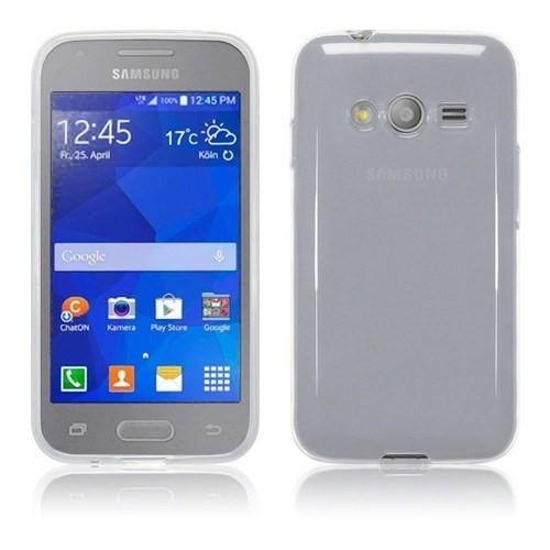 Teleplus Samsung Galaxy Ace 4 Tam Korumalı Silikon Kılıf Beyaz