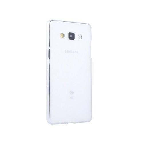 Microsonic Transparent Soft Samsung Galaxy A7 Kılıf Beyaz - CS130-TRP-GLX-A7-BYZ