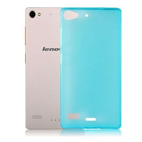 Case 4U Lenovo Vibe X2 Ultra İnce Silikon Kılıf Mavi