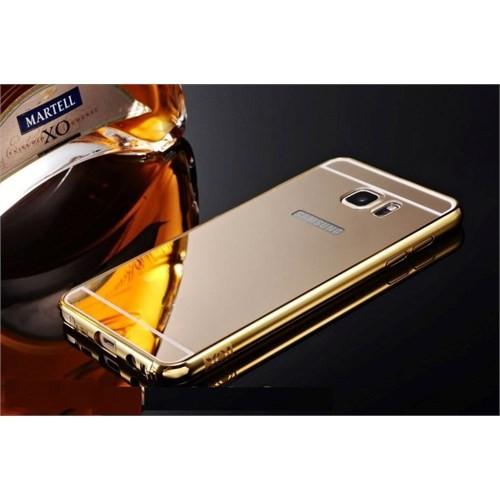 Teleplus Galaxy Note 5 Aynalı Kapak Gold