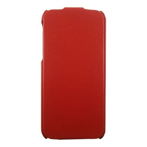Kucipa Apple İphone 5/5S Kırmızı Kapaklı Deri Kılıf