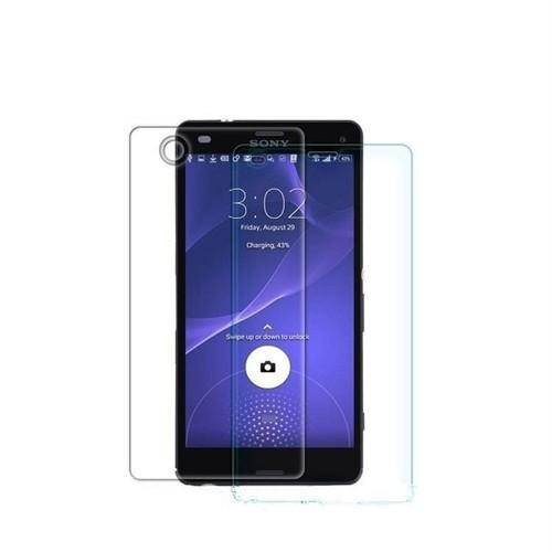 Teleplus Sony Xperia Z3 Ön Ve Arka Cam Ekran Koruyucu Cam Ekran Koruyucu Film