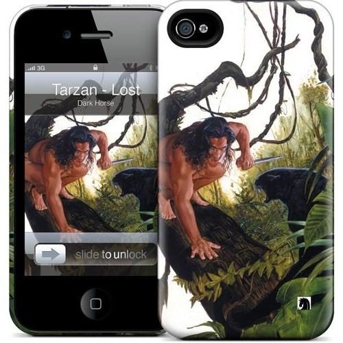 Gelaskins Apple iPhone 4 Hardcase Kılıf Tarzan Lost Adventu