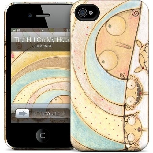 Gelaskins Apple iPhone 4 Hardcase Kılıf The Hill On My Head