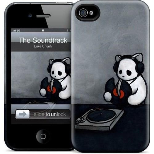 Gelaskins Apple iPhone 4 Hardcase Kılıf The Soundtrack