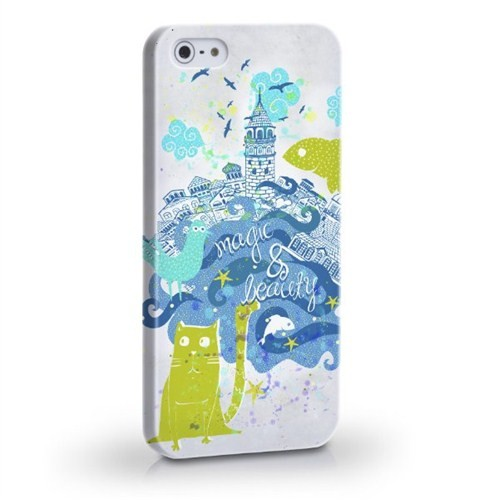 Biggdesign Magic İstanbul Apple iPhone 4/4S Kapak