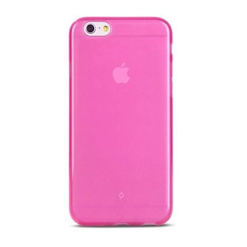 Ttec iPhone 6 Plus Elasty SuperSlim Arka Kapak Pembe - 2PNS46P