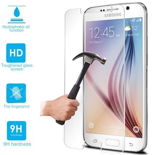 Markaawm Samsung Galaxy S6 Temperli Cam Ekran Koruyucu