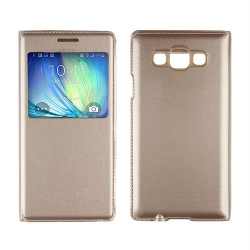 Markaawm Samsung Galaxy J7 Kılıf Flip Cover Pencereli