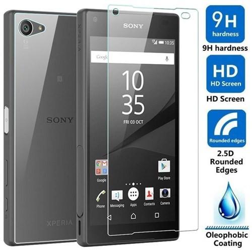 Sonmodashop Sony Xperia Z5 Compact Ön Arka Temperli Cam Ekran