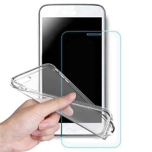 Volpawer Samsung Galaxy J3 Ekran Koruyucu Filmi + Silikon Kılıf