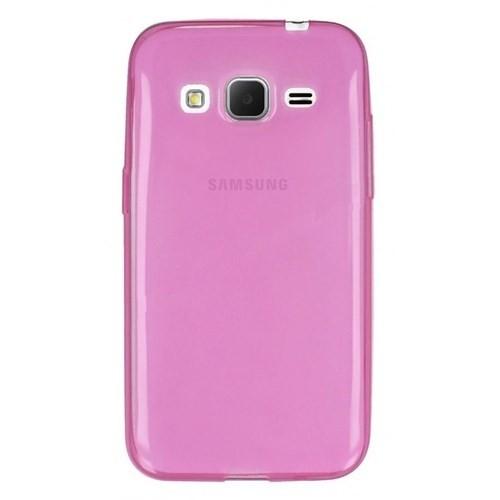 Teleplus Samsung Galaxy Core Prime Silikon Kılıf Pembe