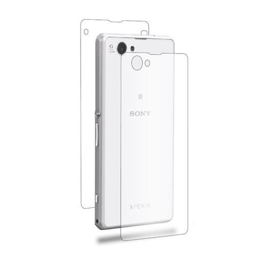 Teleplus Sony Xperia Z1 Compact Full Body Ön + Arka Cam Ekran Koruyucu