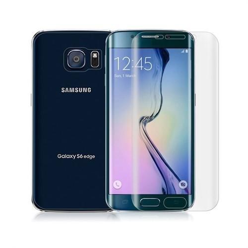 Teleplus Galaxy S6 Edge Full Body Cam Ekran Koruyucu Ön + Arka