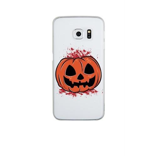Remeto LG G4 Cadılar Partisi Balkabağı Transparan Silikon Resimli Kılıf