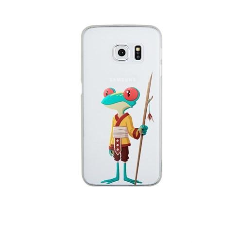 Remeto Samsung S6 Silikon Kabile Üyesi Kurbağa