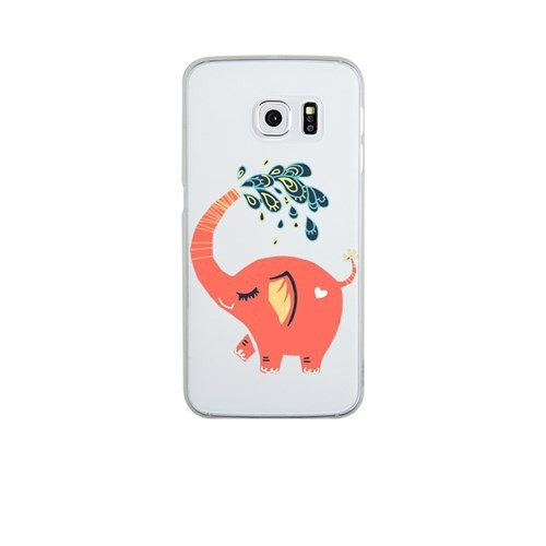 Remeto Samsung S6 Silikon Neşeli Fil