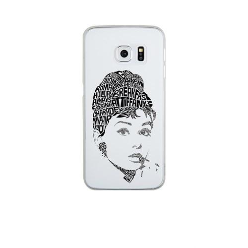 Remeto Samsung S6 Edge Silikon Audrey Hepburn