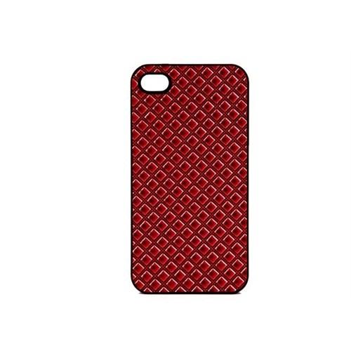 Addison Ip-402 Kırmızı Iphone 4, 4S Kılıfı Ve Şeffaf Ekran Koruyucu