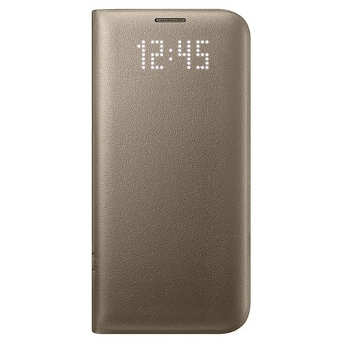 Samsung Galaxy S7 Edge Led View Cover Gold - Ef-Ng935pfegus