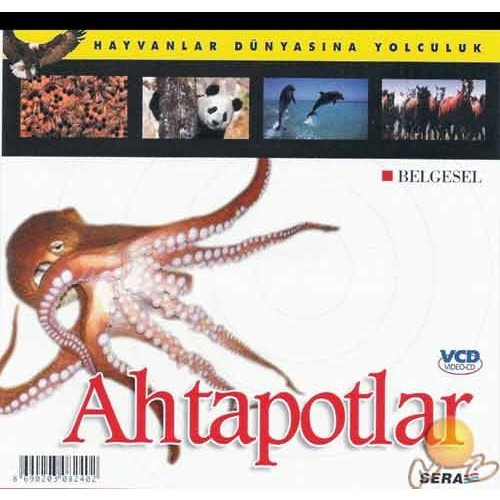 Hayvanlar Dünyasına Yolculuk (Ahtapotlar) ( VCD )