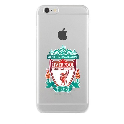 Remeto Samsung Galaxy J1 Transparan Silikon Resimli Liverpool Logo