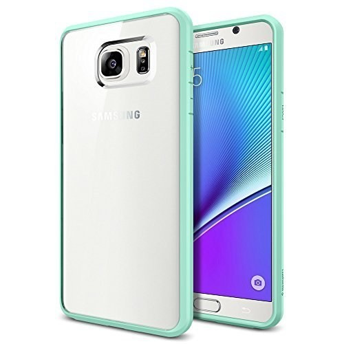 Spigen Galaxy Note 5 Kılıf Ultra Hybrid Mint Green - SGP11685
