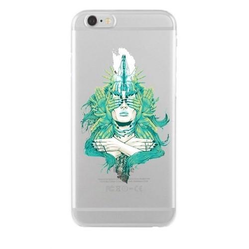 Remeto iPhone 6/6S Plus Şeffaf Silikon Resimli Ellerin Gizemi