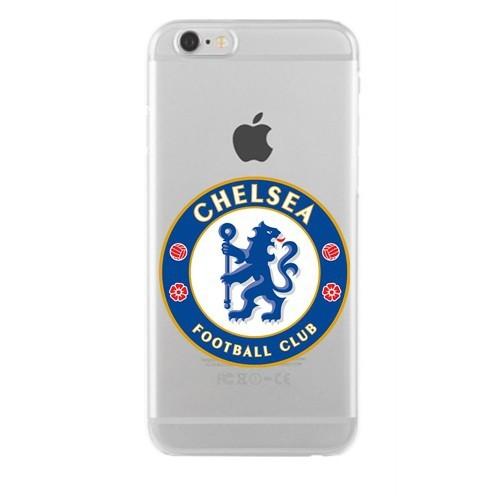 Remeto Samsung Galaxy S5 Mini Transparan Silikon Resimli Chelsea Logo