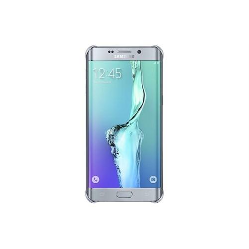 Samsung Galaxy S6 Edge Plus Clear Cover Gümüş Arka Kapak - EF-QG928