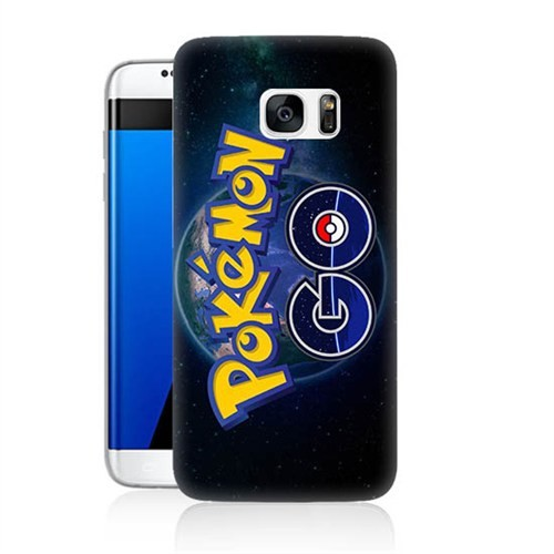 Teknomeg Samsung Galaxy S7 Kapak Kılıf Pokemon Go Baskılı Silikon
