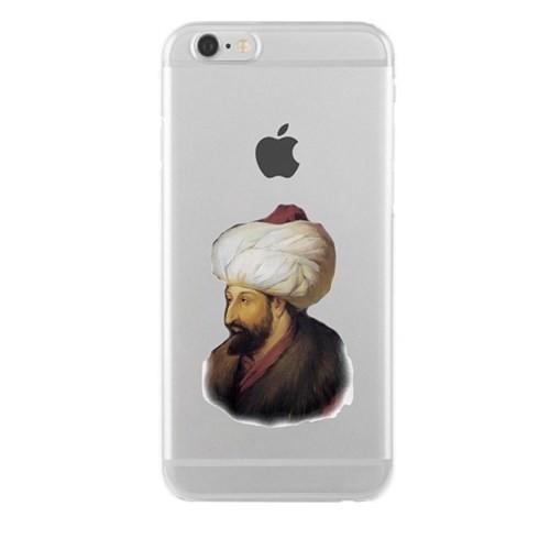 Remeto Samsung Galaxy S4 Mini Transparan Silikon Resimli Fatih Sultan Mehmet