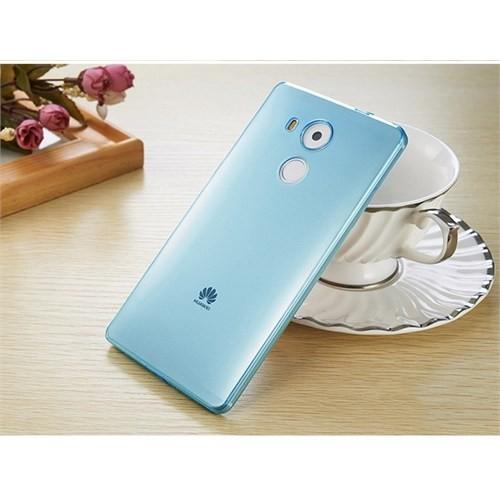 Teleplus Huawei Mate 8 Silikon Kılıf Mavi