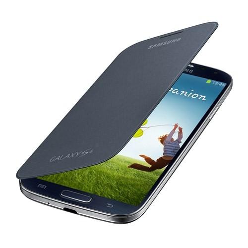 Samsung i9500 Galaxy S4 Kapaklı Kılıf Siyah EF-FI950BBEGWW