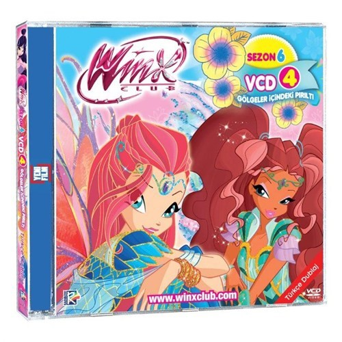 Winx Club S6 Vcd 4 (Eps 10-12) (VCD)