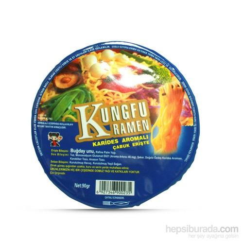 Kunghu Ramen Karides Aromalı Erişte 90 gr