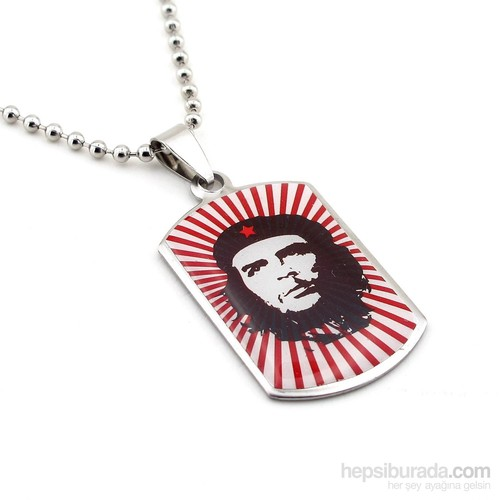 Solfera Ernesto Che Guevara Çelik Erkek Kolye K364