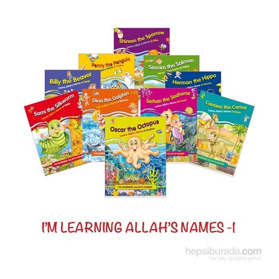 I'M Learning Allah'S Names I-Kolektif