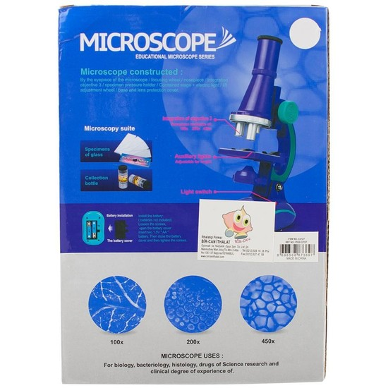 Bircan Oyuncak Oyuncak Mikroskop Seti