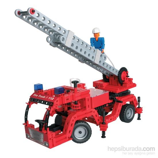 Fischertechnik Fischer Tech Advanced Fire Trucks