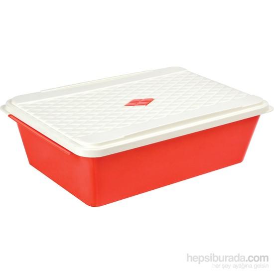 Bager Smartlıne Saklama Kabı 4,5 Lt - Kırmızı