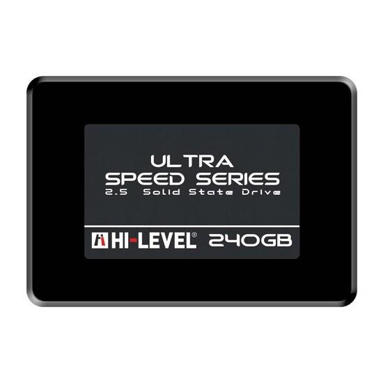 """Hi-Level Ultra 240GB 550MB-530MB/s Sata3 2,5"""" SSD (HLV-SSD30ULT/240G)"""
