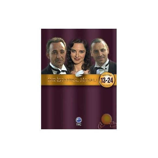 Bir İstanbul Masalı (Bölüm 13-24) (3 DVD) ( DVD )