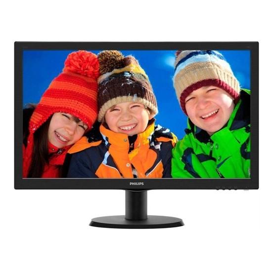 "Philips 243V5LAB/01 23.6"" 5ms (Analog+DVI) Full HD LED Monitör"