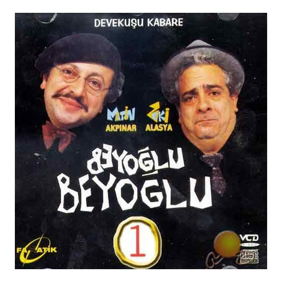Devekuşu Kabare (Beyoğlu Beyoğlu 1) ( VCD )