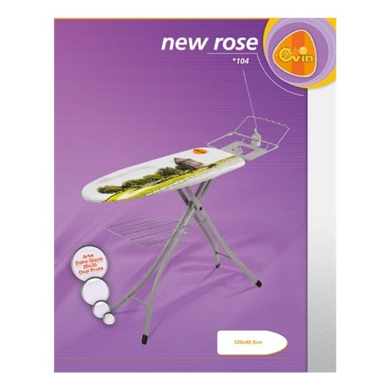 Evin Rose Ütü Masası