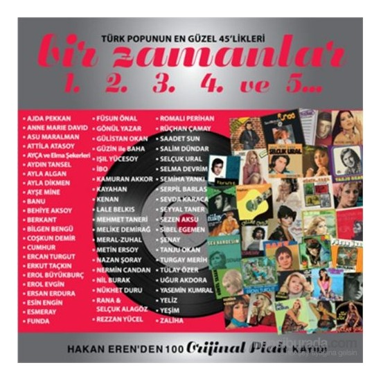 Various Artist - Bir Zamanlar (5 CD Boxset)