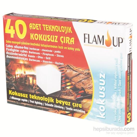 Flam Up Teknolojık Beyaz Çıra 40'Lı