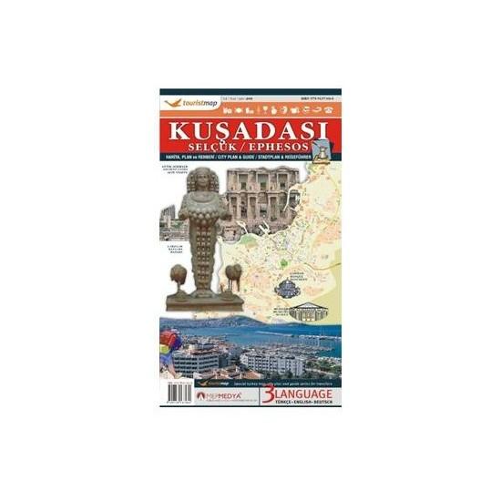 Touristmap Kuşadası-Selçuk Harita, Plan ve Rehberi