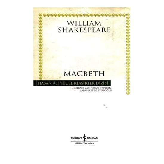Macbeth (Karton Kapak) - William Shakespeare